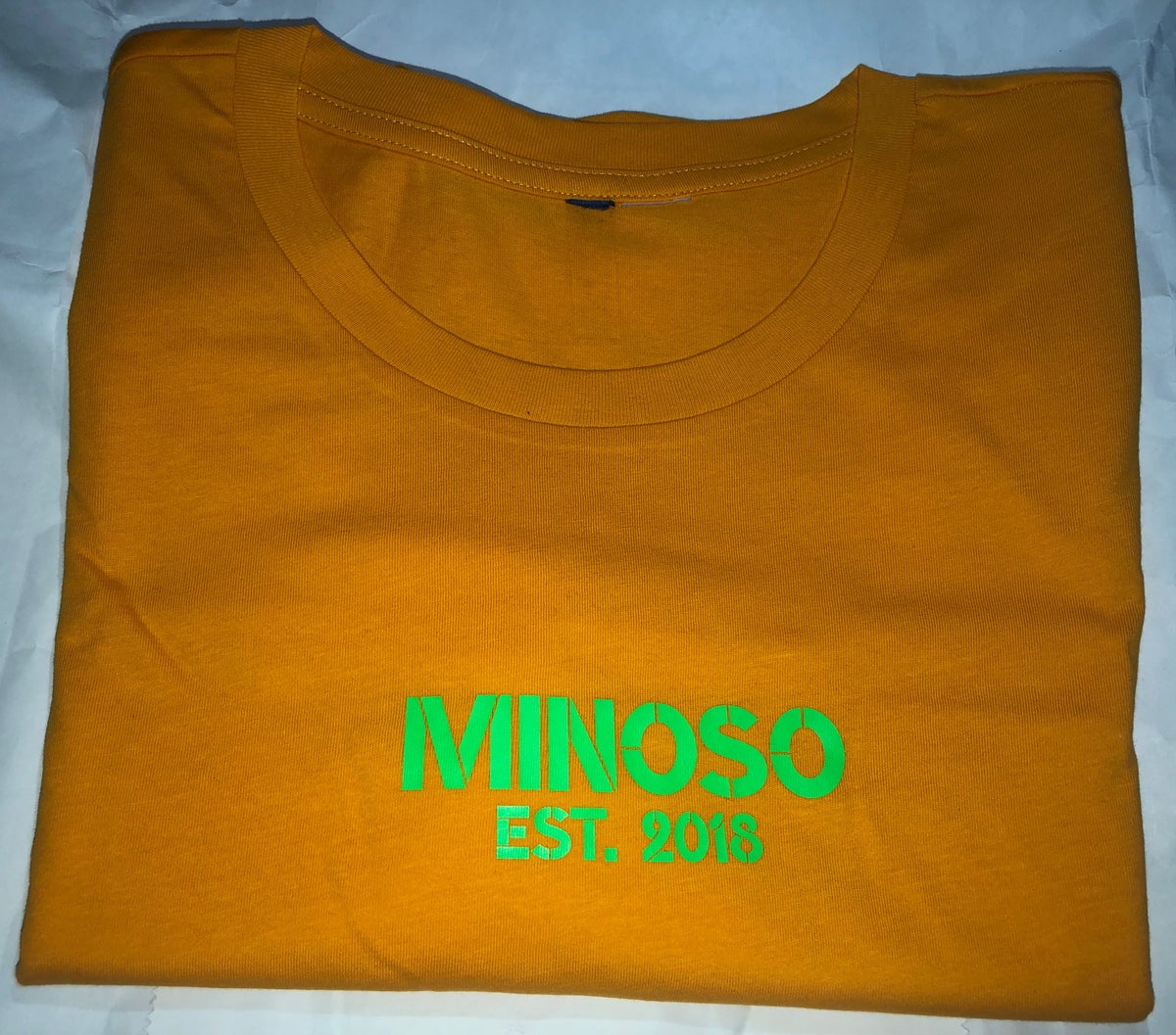 Image of Exclusive YellowOrange Minoso Tee