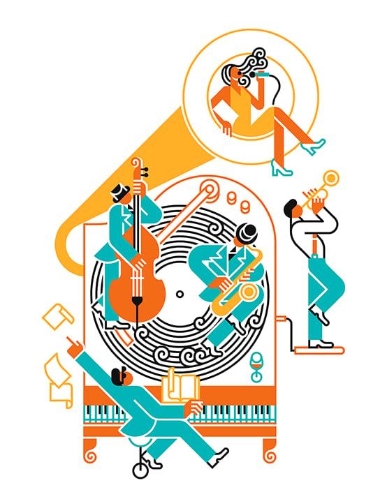 Image of Gramophone jazz
