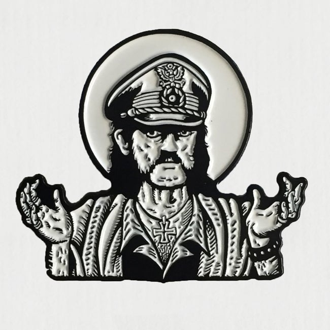 Image of What would Lemmy do? Enamel Pin