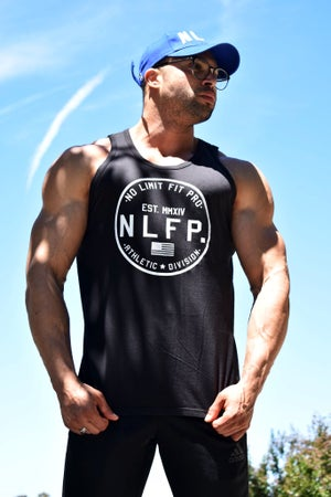 Image of LIMITLESS TANK TOP BLACK