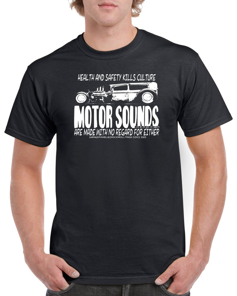 Image of Motor Sounds Records T-Shirt