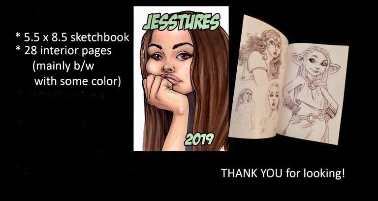 Image of 2019 sketchbook
