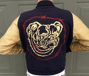 Image of Bulldog & Barbed Wire Letterman