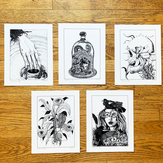 "Image of MONO 5 Fine Art Print Set (8.5""x11"")"