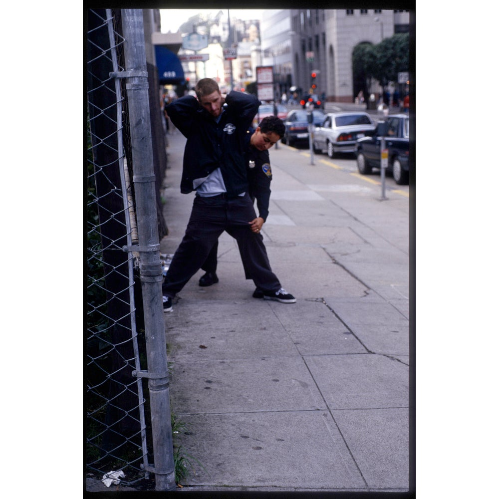 Image of Julien Stranger and SF cop 1995