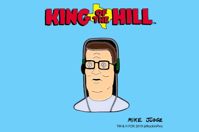 Image of King of the Hill - Hank Hill Headphones