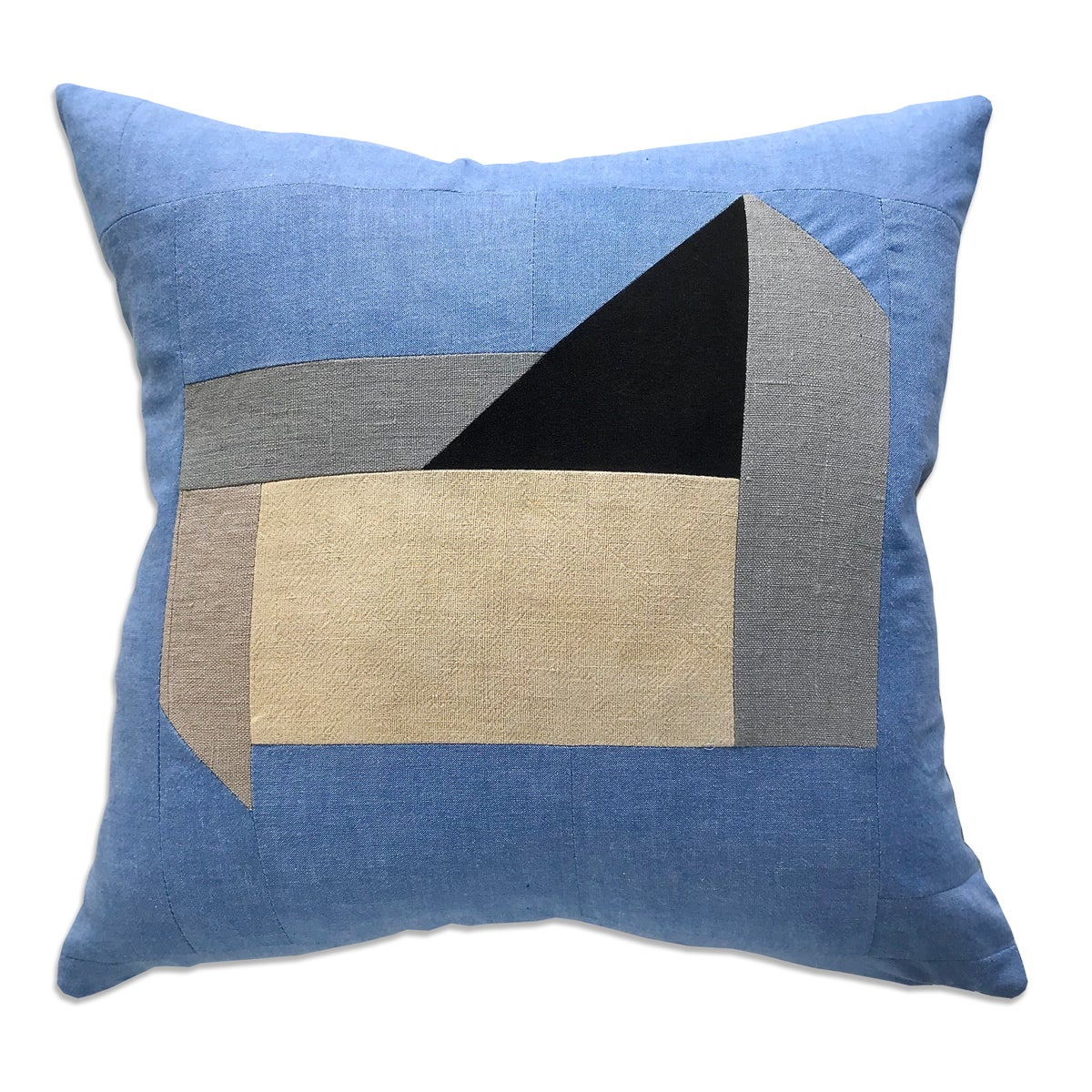 Image of GRAPHIC COLLAGE PILLOW #2