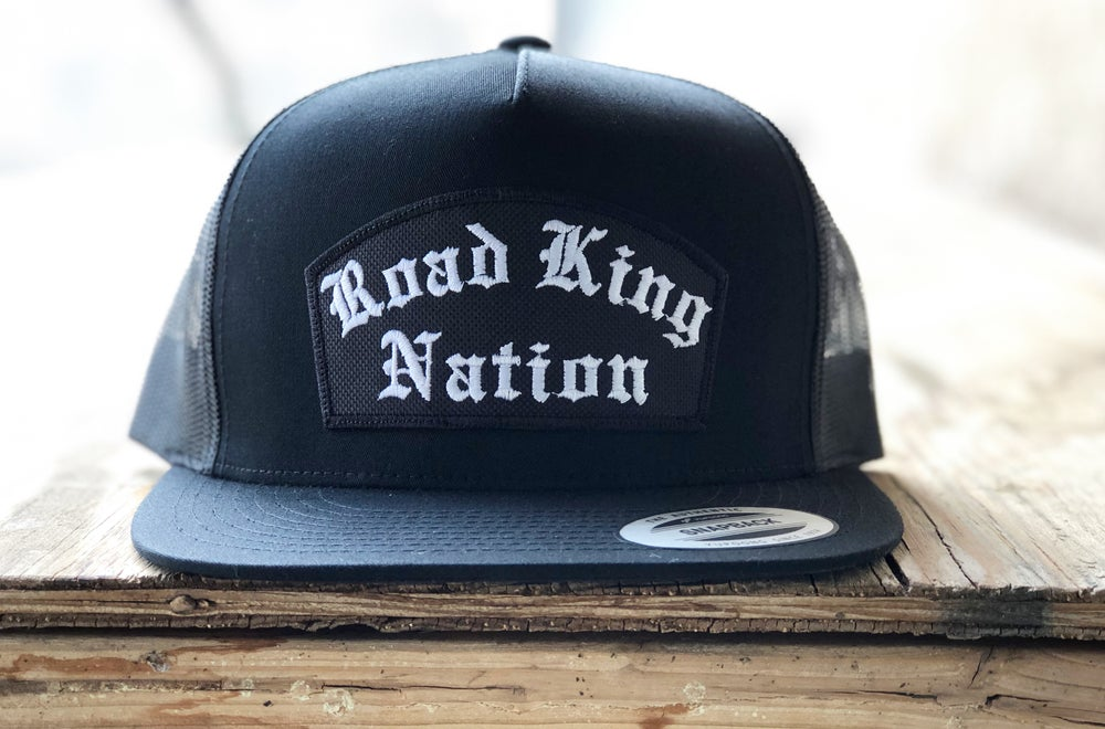 Image of RKN Patch hat (black)