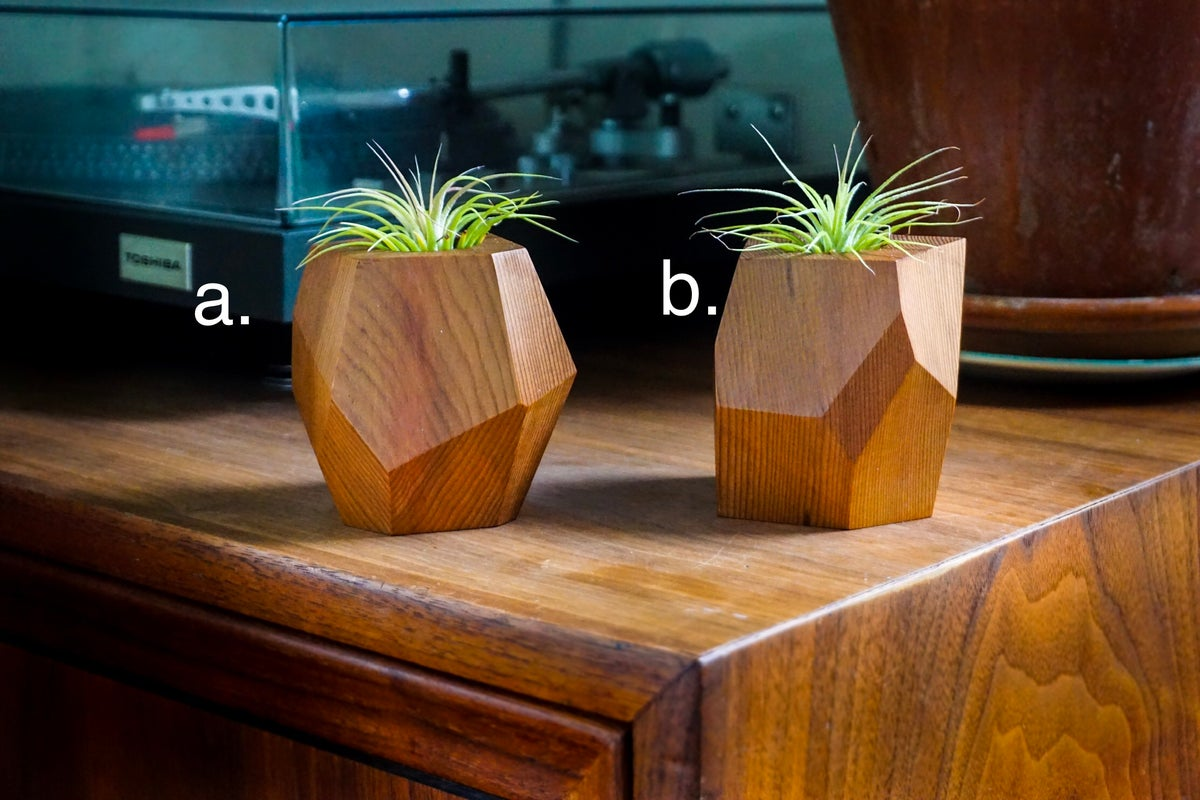 Image of Geometric Cedar Planter
