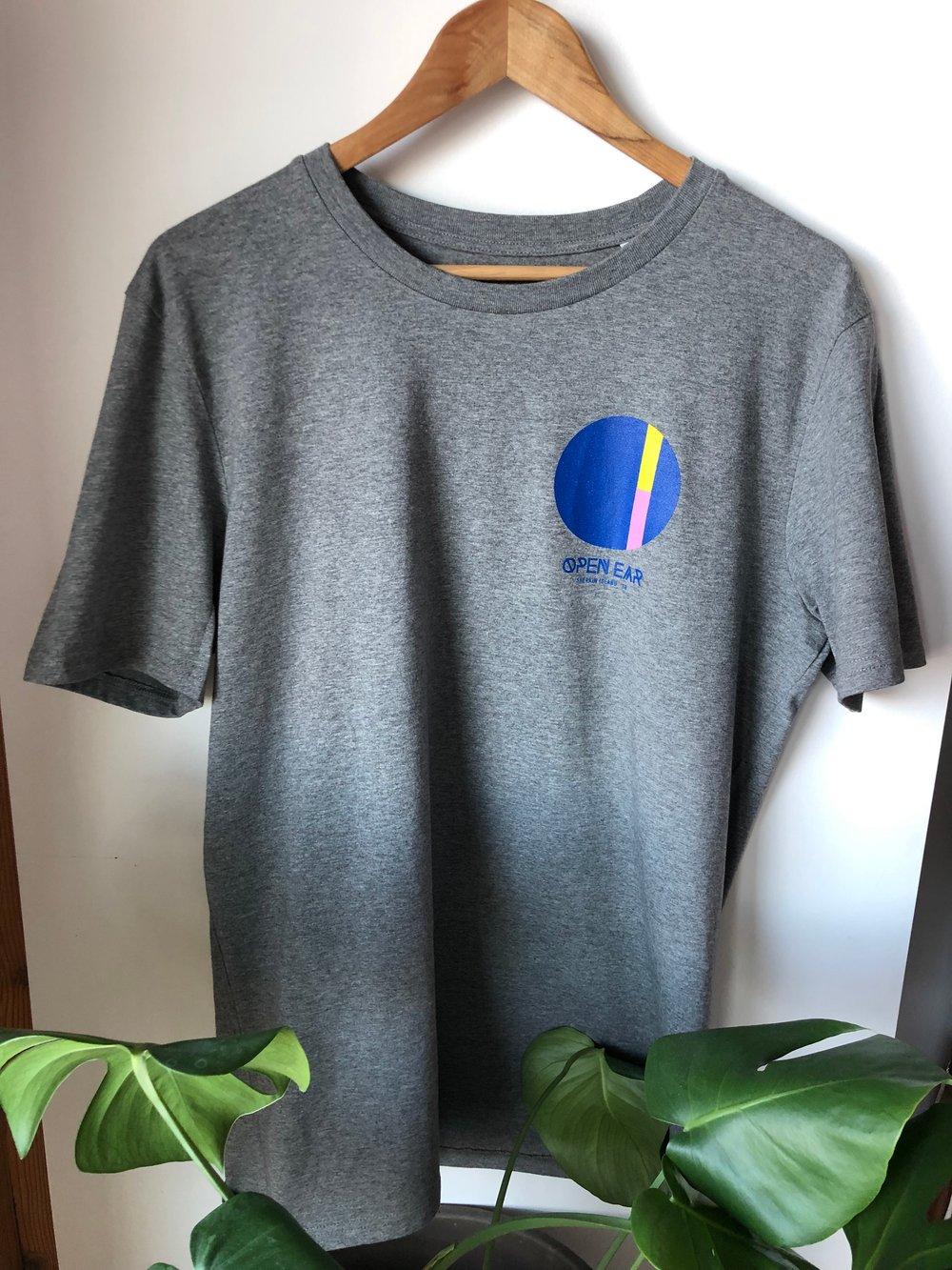 Image of Organic Open Ear 2019 T-Shirt - Grey