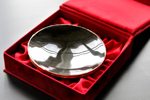 Image of Magical (Black) Mirror in a Handmade Box