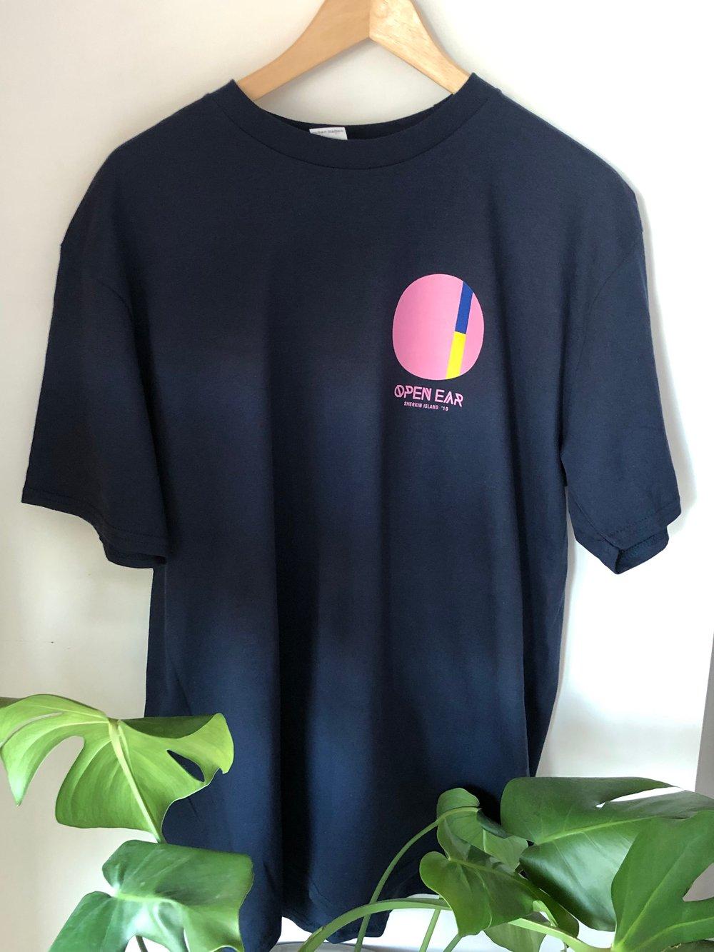 Image of Open Ear 2019 T-Shirt - Navy
