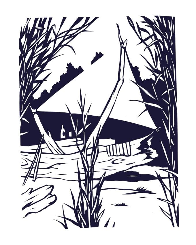 Image of »Janta Island Cut #43«