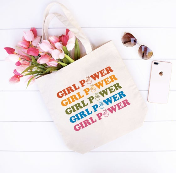 Image of Girl Power Tote Bag