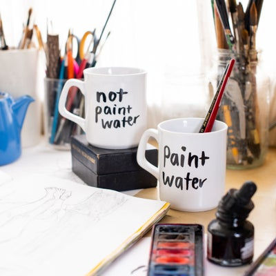 Image of Paint Water Mugs
