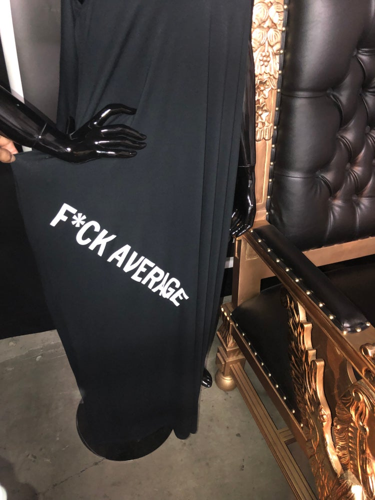 Image of F*ck Average Cami Maxi dress
