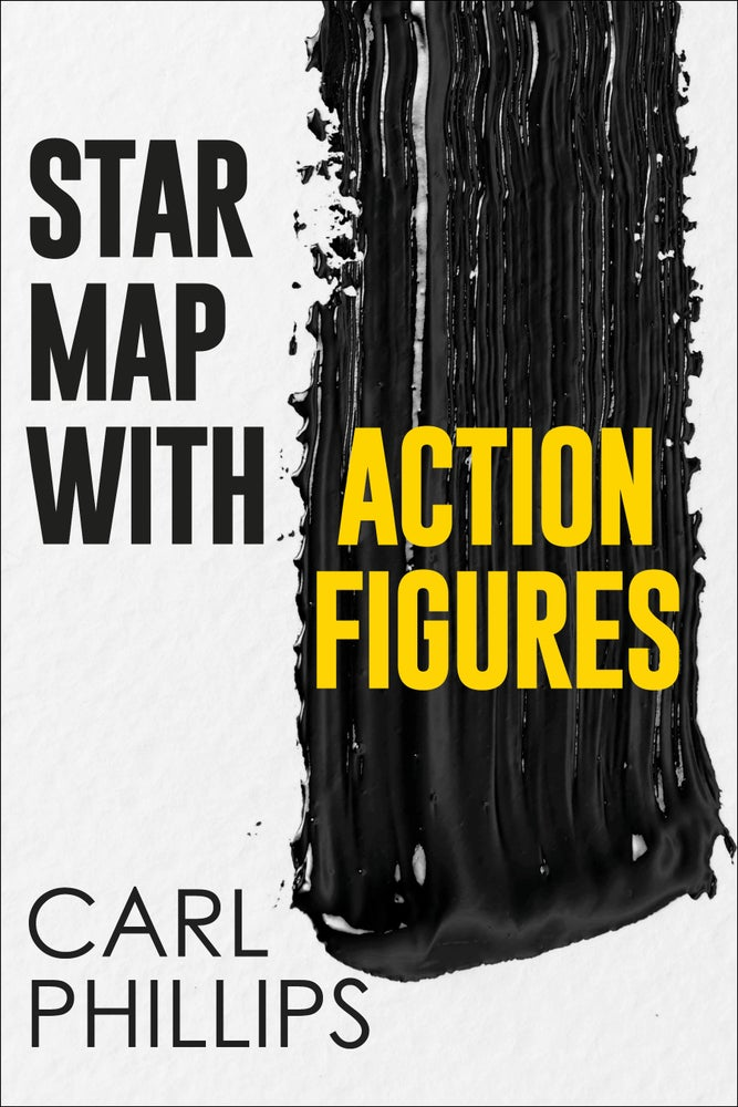 Image of Star Map with Action Figures by Carl Phillips