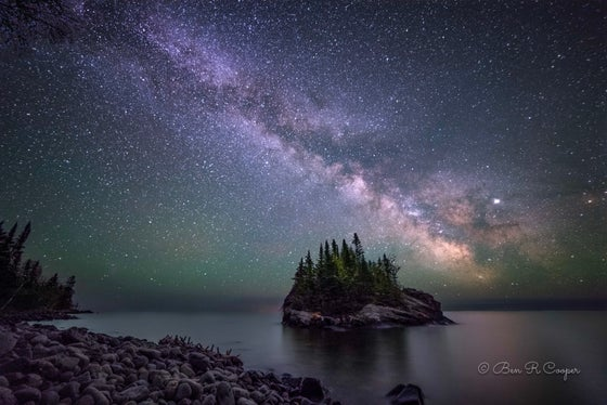 Image of North Shore Milky Way