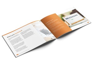 Image of Receipt Bank Set Up and Training Brochure Print