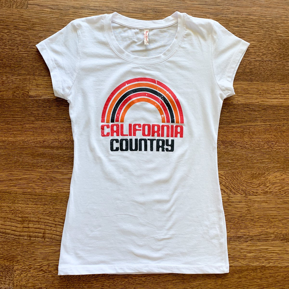 Image of California Country Womens Tee - White