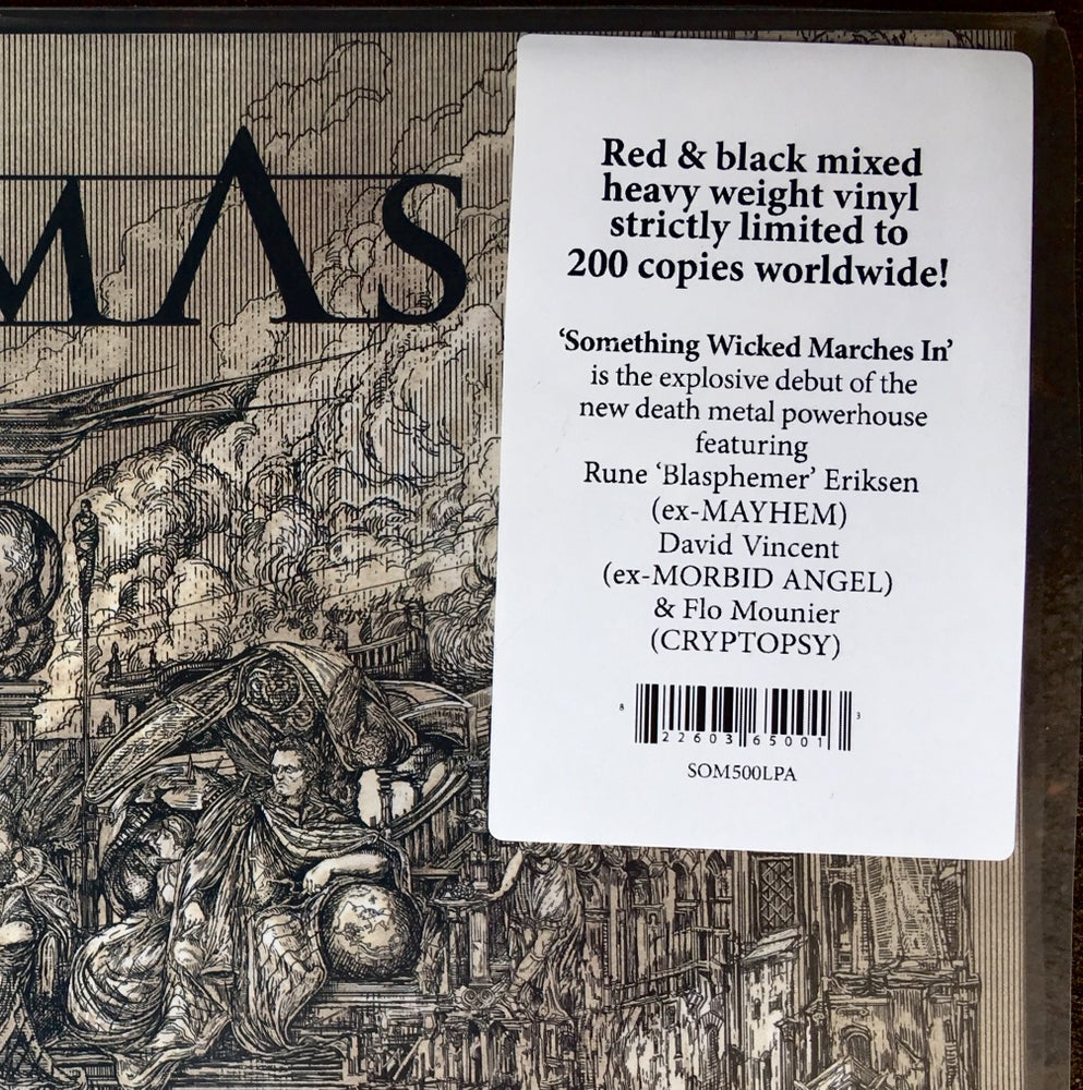 """Image of VLTIMAS - 'Something Wicked Marches In' (SIGNED) on Exclusive, """"Blood of Devils"""" color Vinyl"""