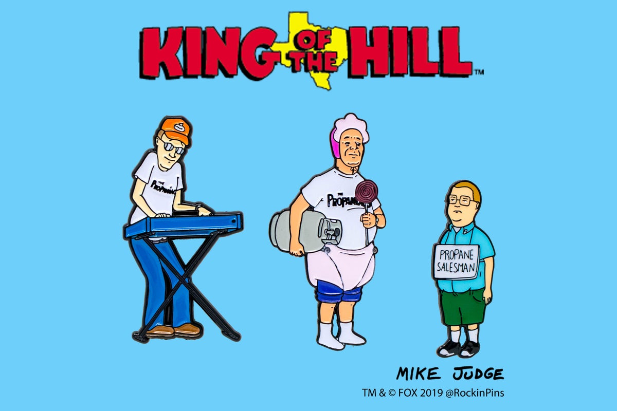 Image of King of the Hill - The Propaniacs