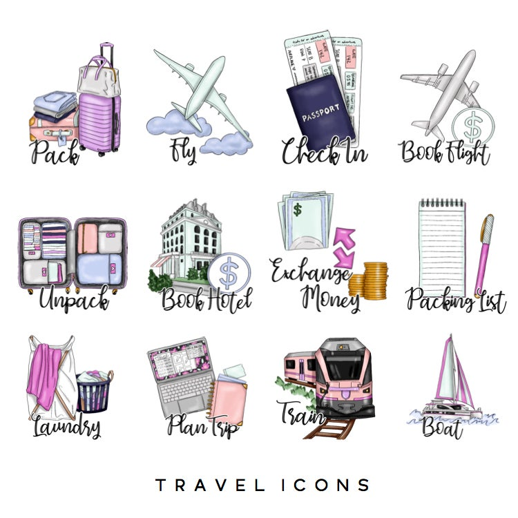 Image of Travel  Icons