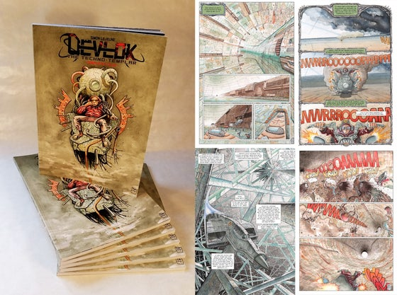 Image of Devlok, le Techno-Templier - Cycle Complet