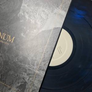 Image of VANUM - Realm of Sacrifice LP (Translucent Blue/Smoke)
