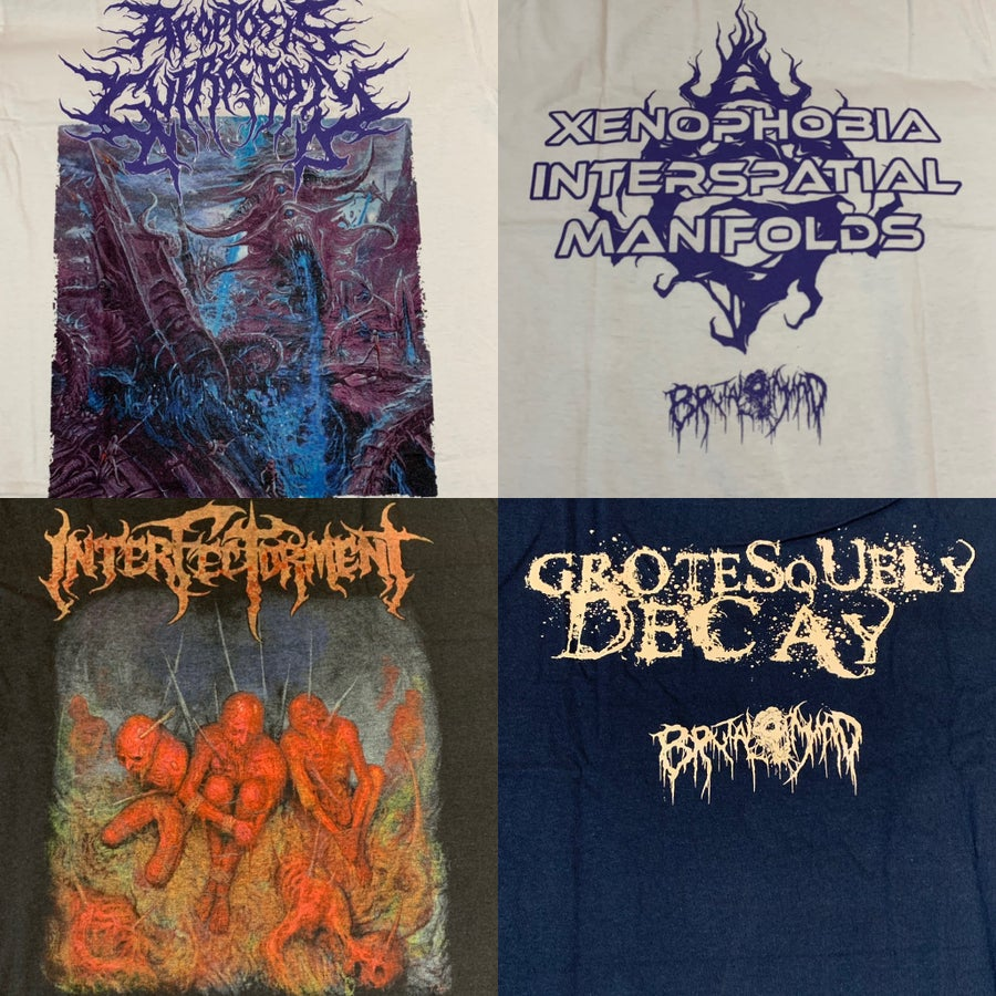 Image of Officially Licensed Apoptosis Gutrectomy und Inferfectorment shirts!!