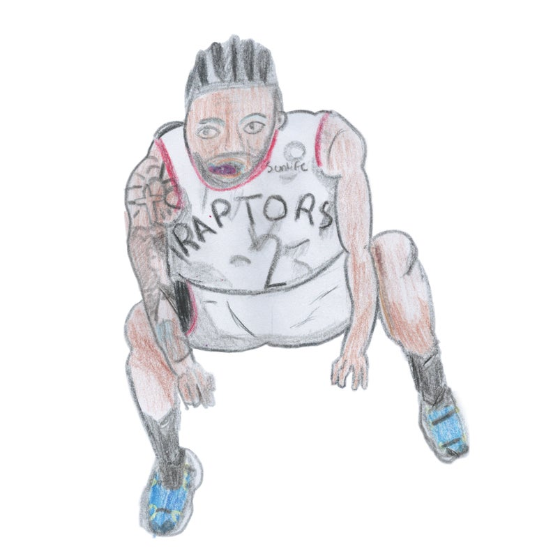 Image of Kawhi's Final Countdown Print