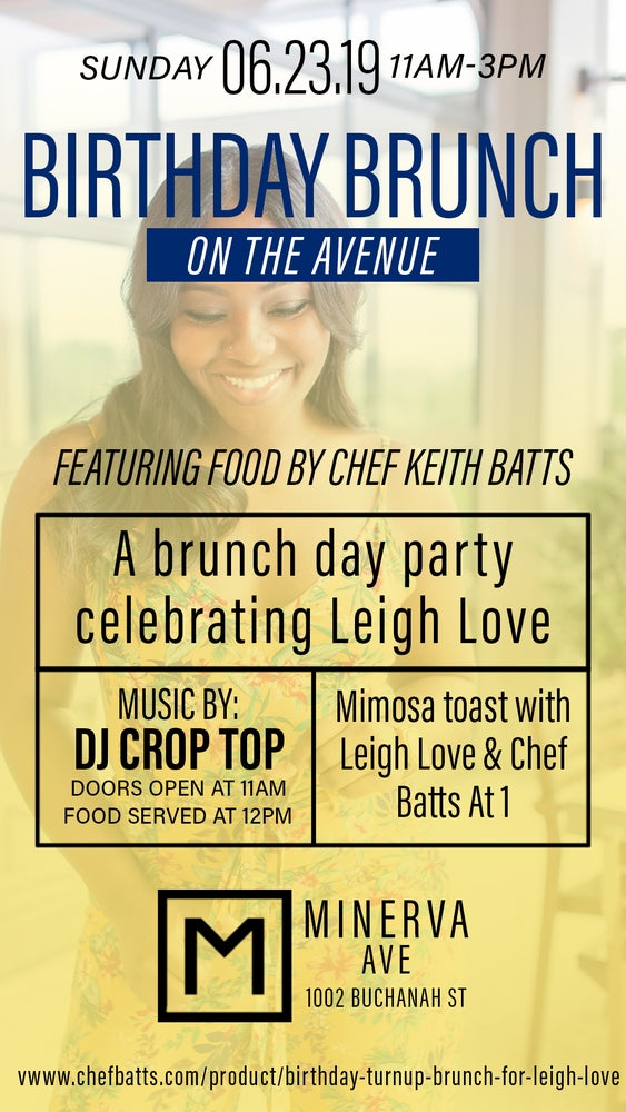 Image of Birthday Turnup Brunch for Leigh Love