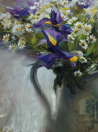 "Image of ""Bouquet"", original painting"