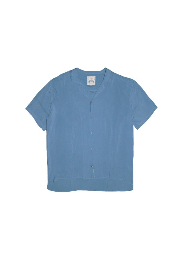 Image of Dusky Blue - Rayon shirt