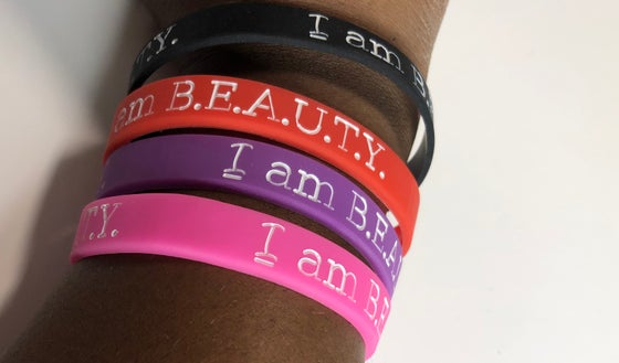 Image of I AM BEAUTY Classic Wrist Bands