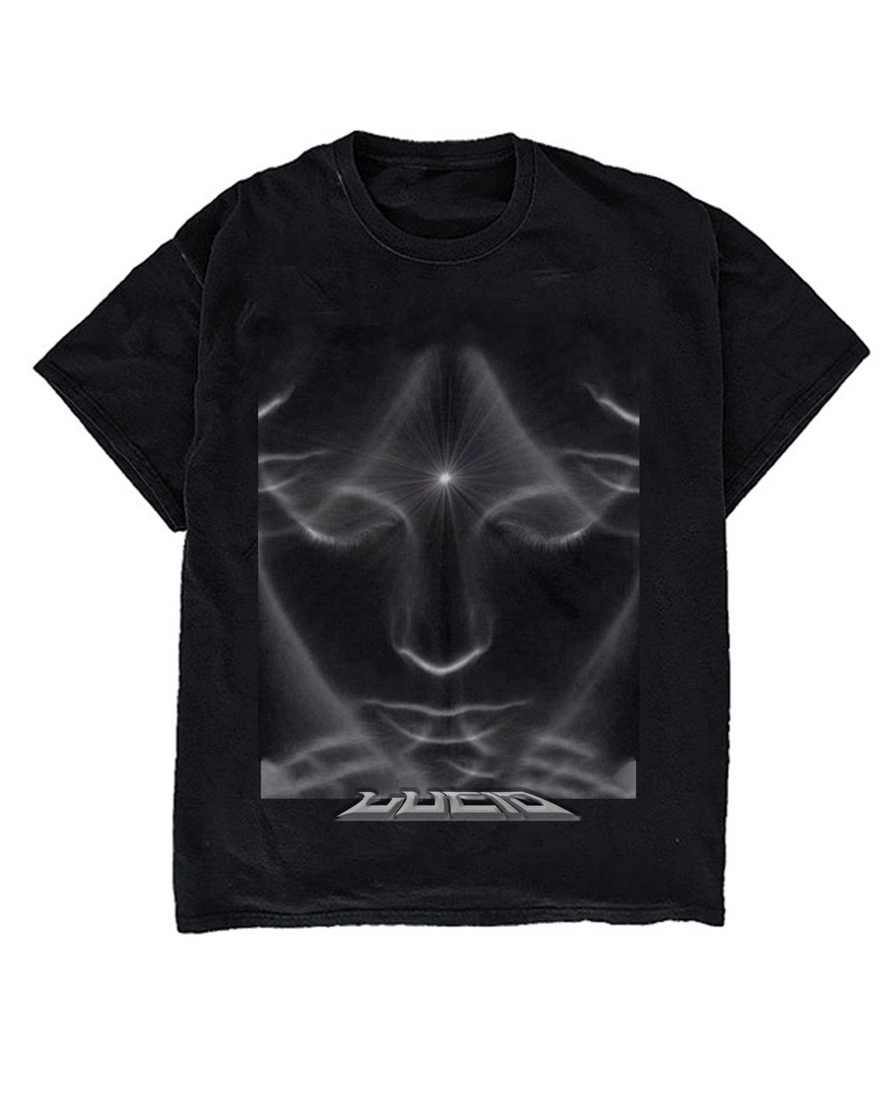 Image of CLAIRVOYANCE TEE - BLACK