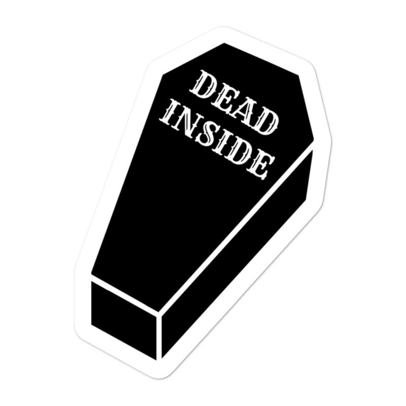 Image of Dead Inside Sticker