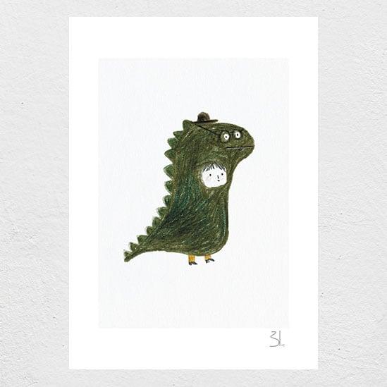 Image of Dino Print