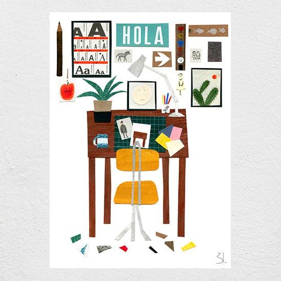 Image of My Studio Print
