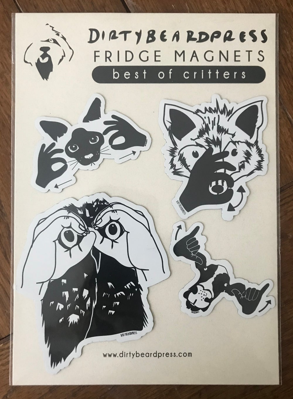 Image of Best of critters magnets
