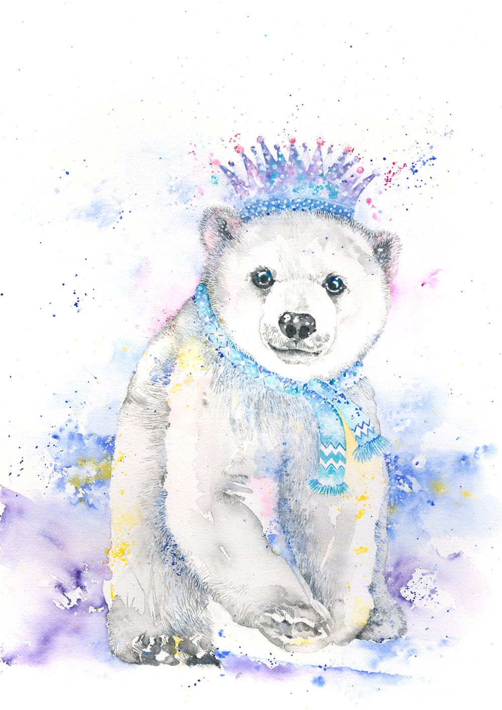 Image of Casper - The baby Polar Bear with FREE SHIPPING