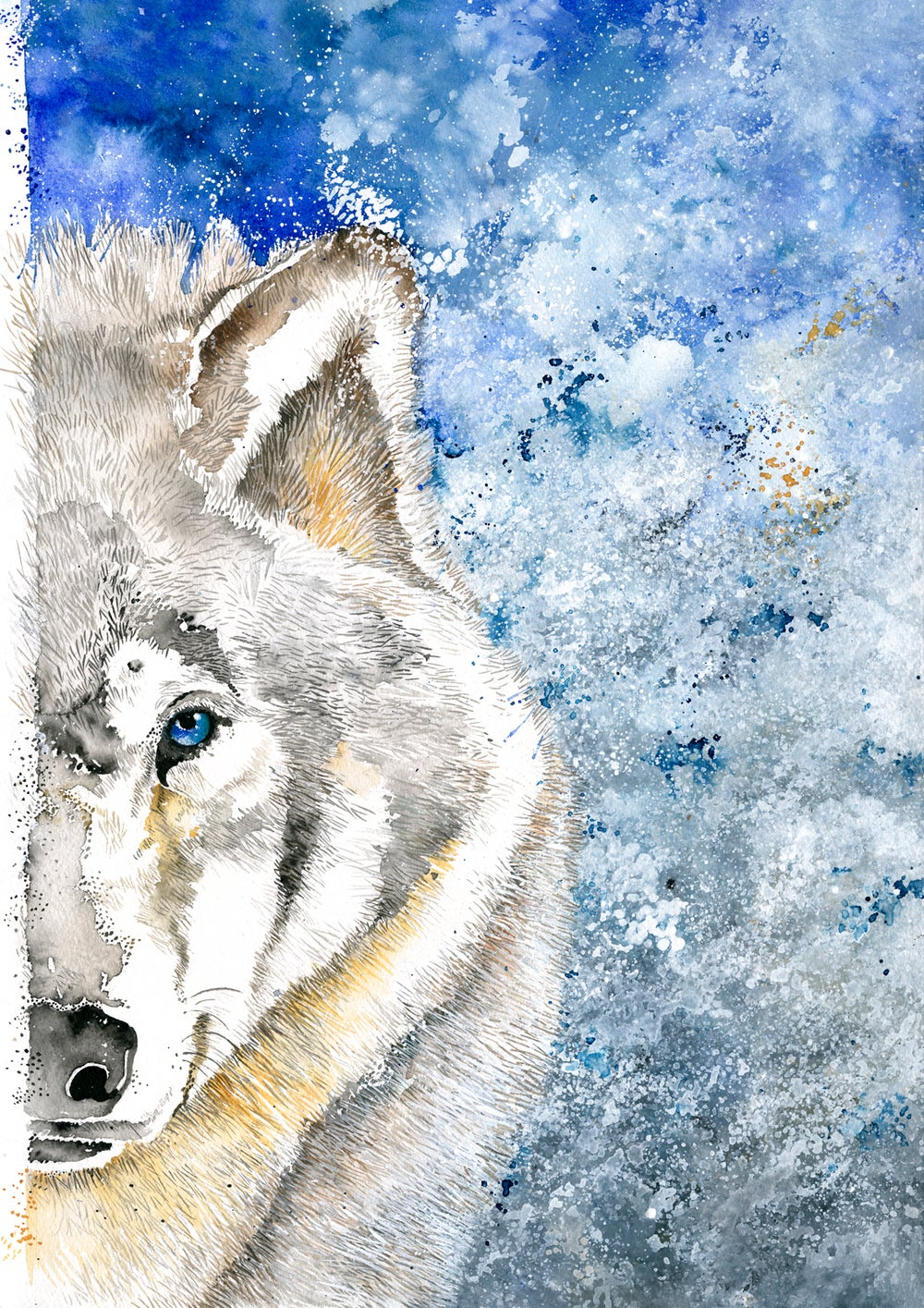 Image of Rama - The Majestic Wolf with FREE SHIPPING