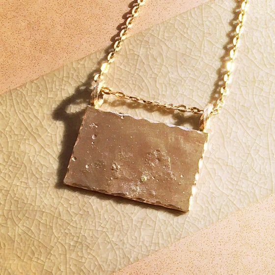 Image of Gold Wave / Necklace