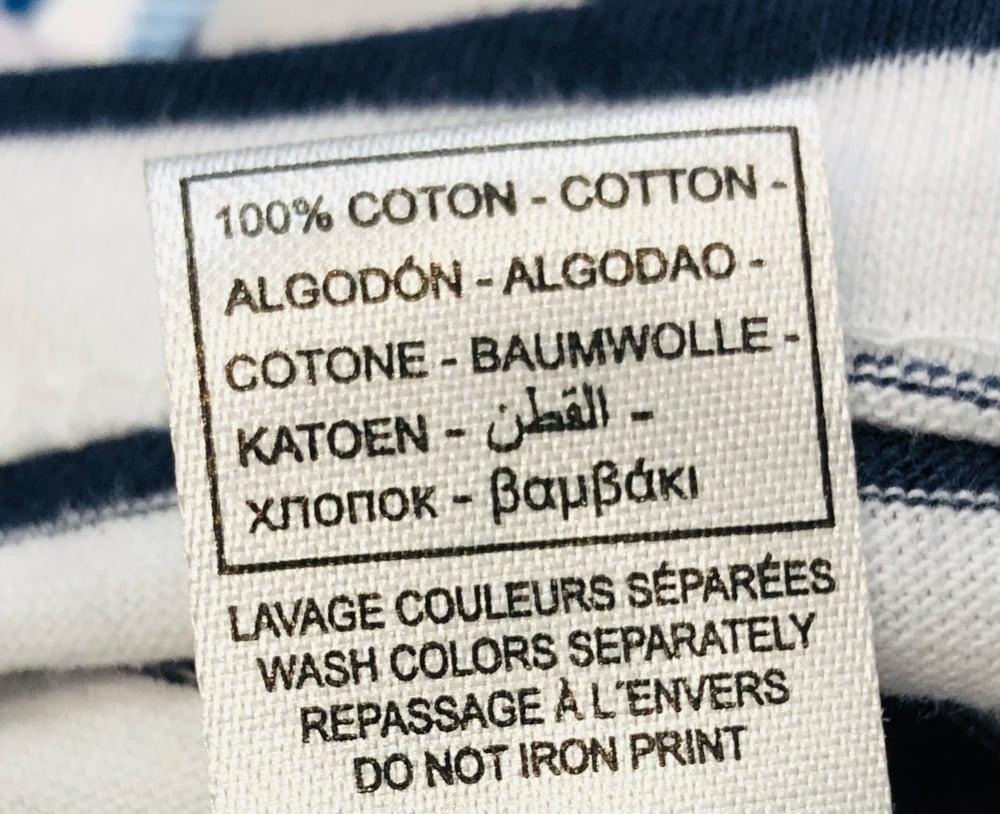 Image of T-Shirt Blanc Chirac Bleu Blanc Rouge