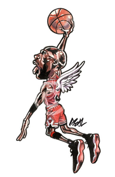 "Image of "" Tomahawk Dunk "" sticker"