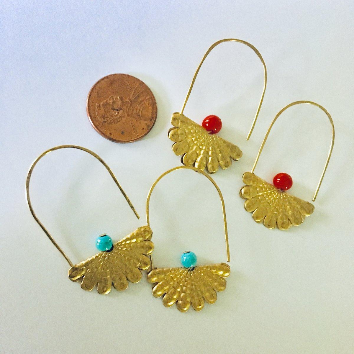 Image of Squash Blossom Earrings