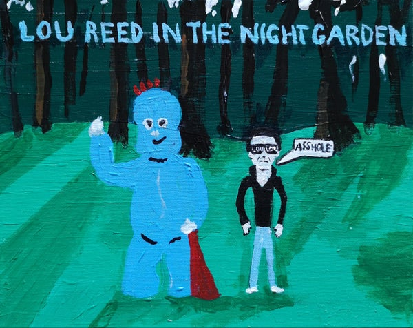 Image of Lou Reed In The Night Garden