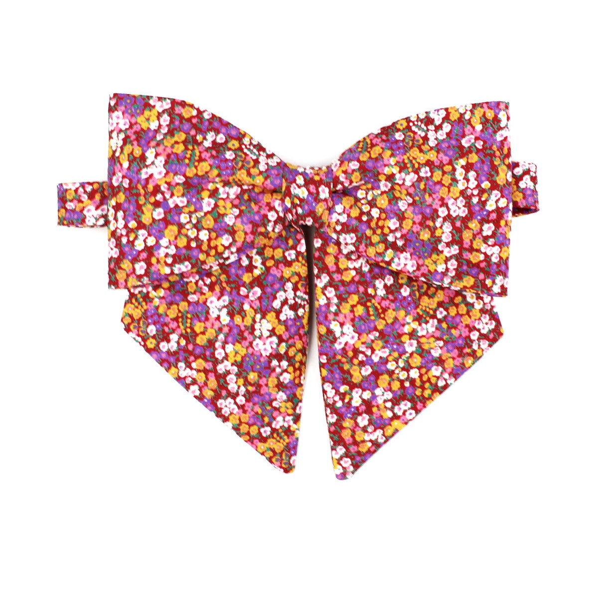 Image of Poppy Floral Lady Bow