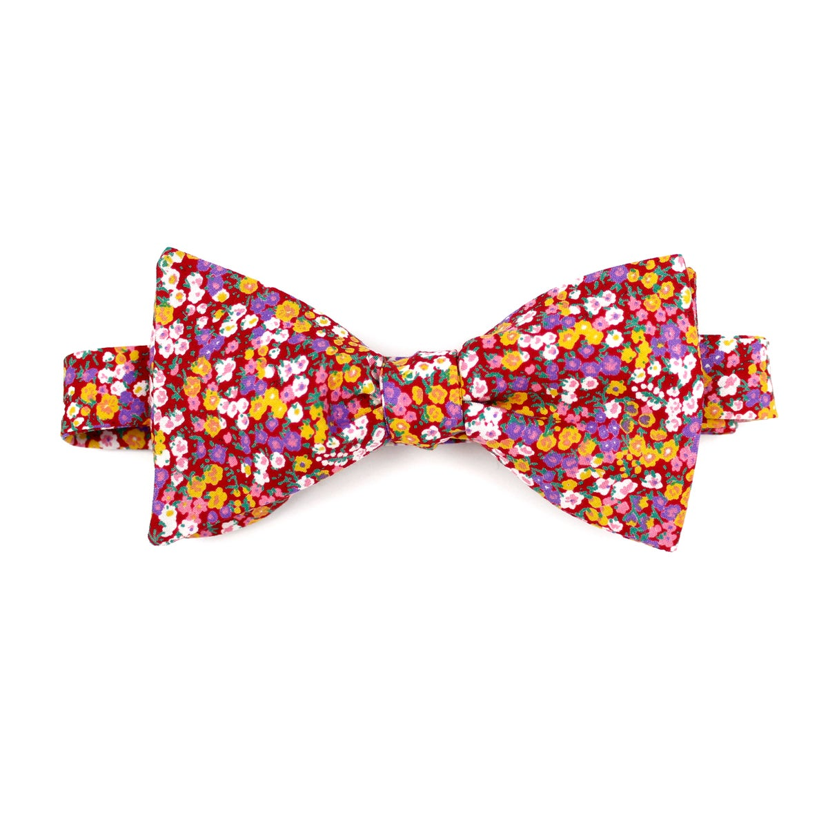 Image of Poppy Floral Bow Tie