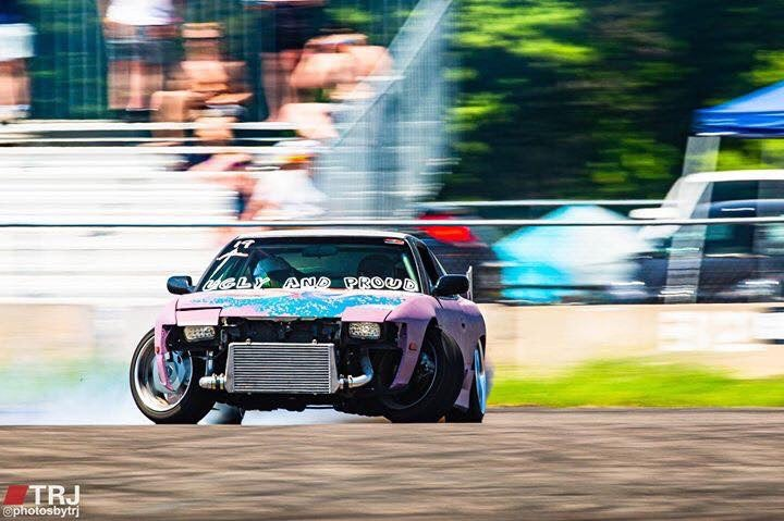 Image of Nissan 240sx S13 Full Unicorn Angle Kit